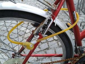 Unsicheres Fahrradschloß
