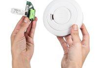 Rauchmelder, Batterien für Rauchmelder