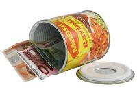 Dose, Safe, Tresor, Geldversteck, Versteck, Wertsachen verstecken