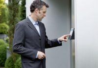 Elektronischer Schlüssel, Haustür, Haustürschlüssel, elektronischer Haustürschlüssel, System, Einbruchschutz, Sicher abschließen